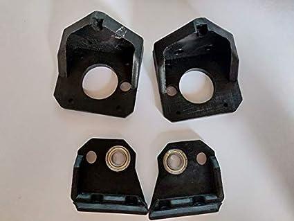 Amazon com: HEASEN Prusa i3 Solid Fixed Z axis mounts kit