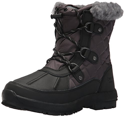 Boot Bethany Black Women's Grey Snow Bearpaw FTtzWqwxn