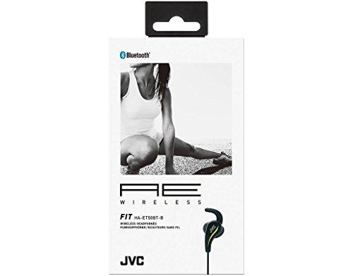 JVC HAET50BTB BLACK AE Wireless Sports Headphones by JVC