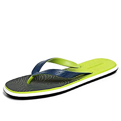 d8aa6b5052736 Image Unavailable. Image not available for. Color  Culturemart New Soft  Massage Beach Slippers Fashion Men Sandals Summer ...