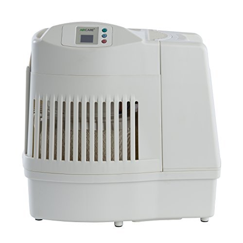 AIRCARE MA0800 Digital Whole-House Console-Style Evaporative Humidifier, White by AirCare