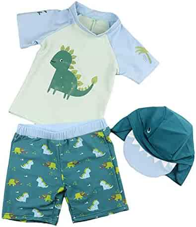 3888c63bd8ce Happy Cherry Baby Boys Two Piece Swimsuit Rashguard Sun Protection Swimwear