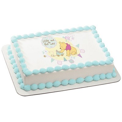 Amazon Winnie The Pooh Baby Shower Licensed Edible Cake Topper
