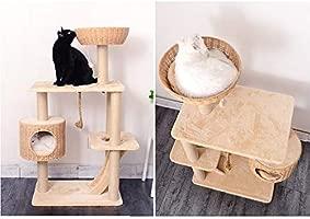 WX-WX Productos para Mascotas Árbol De Gato Que Teje, Plataforma ...