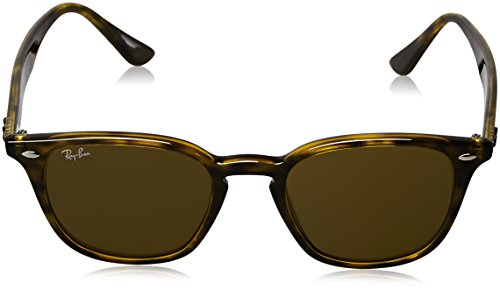 e5ab9a114d Ray-Ban Irregular Square Keyhole Sunglasses in Shiny Havana RB4258 ...