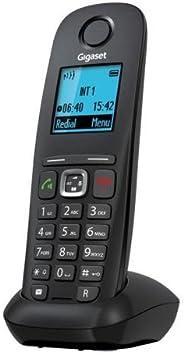 Gigaset Gigaset A540H - Teléfono fijo inalámbrico (DECT/GAP, NiMh), negro: Amazon.es: Electrónica