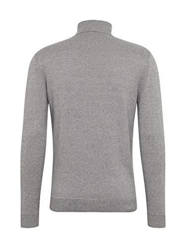Langarmshirt 10325 Tom Maniche Pearl Klassisches Tailor Grey smoked Rollgragen A Uomo Lunghe Maglia Grigio xOOtAYr