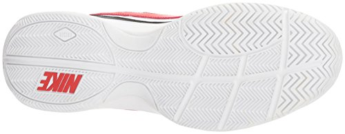 Nike Men's Court Lite Tennis Shoe, White/University red/Black, 7.5 D US by Nike (Image #3)