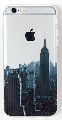 IPhone 6/6s Case, YogaCase InTrends Back Protective Cover (Cityscape New (New York Case)