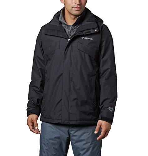 Columbia Men's Bugaboo Ii Fleece Interchange Jacket, Black, Large/Tall