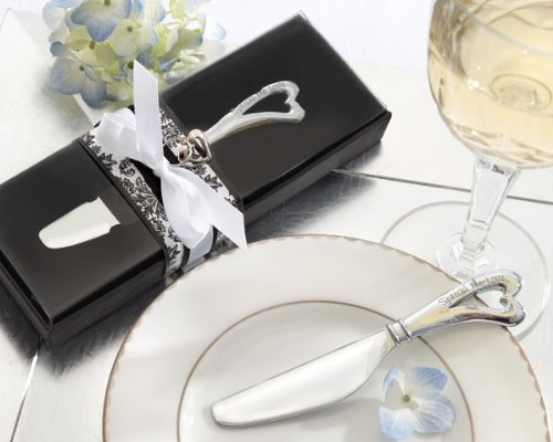 Spread the Love Chrome Spreader with Heart Shaped Handle by Bgehr