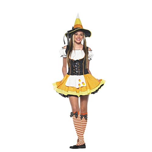 Kandy Korn Witch Teen/Junior Costume - Teen