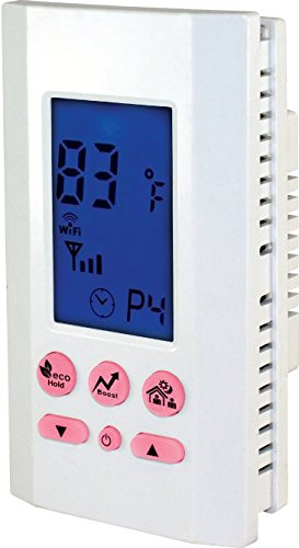 King Electric ATMOZ1-240-WIFI Wi-Fi Programmable Line Voltage Thermostat, White