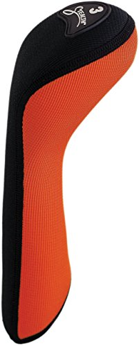 (Stealth Club Covers 39110 Fairway Wood 3 Golf Club Head Cover, Flame Orange/Black)