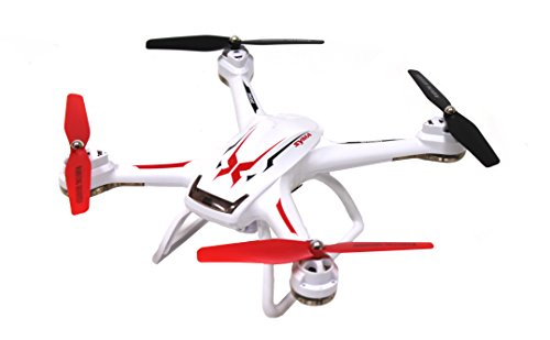 Syma X54HW First Person View Wifi Quadcopter with Altitude Hold 2.4 Ghz Live Video Drone White