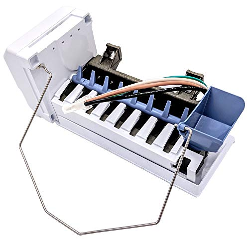 Supplying Demand W10469286 W10793297 Refrigerator Ice Maker Assembly Compatible With Amana (Kenmore Elite Fridge Ice Maker Not Working)