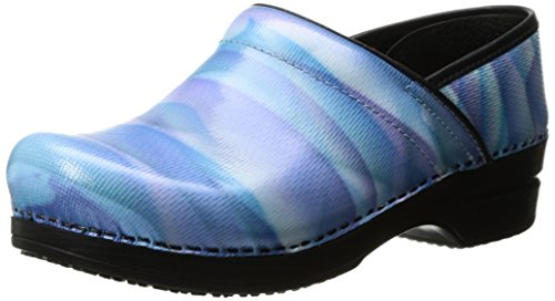 Image of Sanita Women's Smart Step Sky Work Shoe, Light Blue, 37 EU/6.5 M US