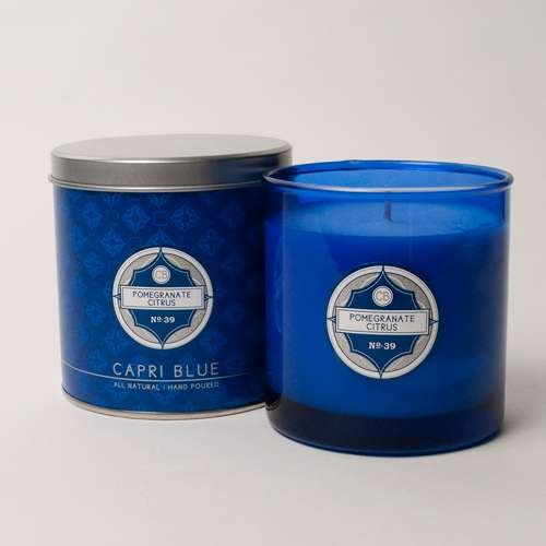 (Capri Blue Pomegranate Citrus No 39 Chub Candle)