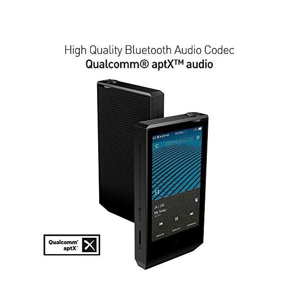High Resolution Audio Player/aptX JetEffect Bluetooth/Dual DAC, DSD256, SNR 136dB / AI Audio 6