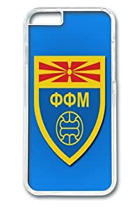 FYR Macedonia Football Custom iPhone 6 Plus 5.5 inch Case Cover Polycarbonate Transparent