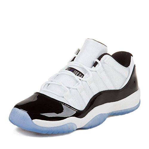 Jordan Gradeschool 11 Retro Low Bg White/Black-Dark Concord 528896-153 7