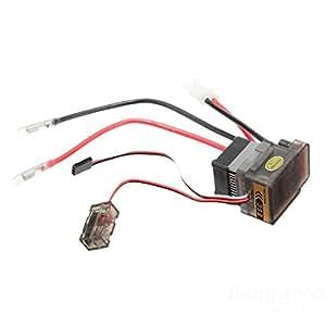 [Envio GRATIS] ESC Cepillado controlador de velocidad para el coche de RC del barco del carro 320A 7.2V-16V // ESC Brushed Speed Controller for RC Car Truck Boat 320A 7.2V-16V
