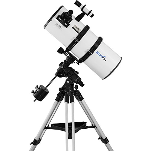 Zoomion Genesis 200 EQ large 8 inch reflector telescope for amateur...