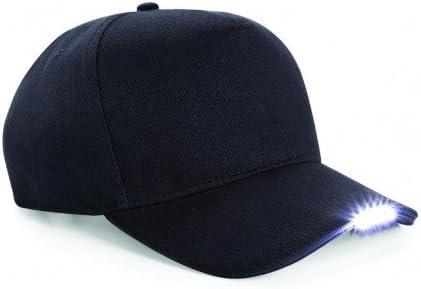Beechfield Gorra//Visera con LED Verano//Playa