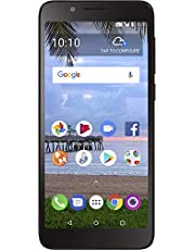 SafeLink TCL LX 4G LTE Prepaid Smartphone - Black - 16GB - CDMA - Existing Service Required
