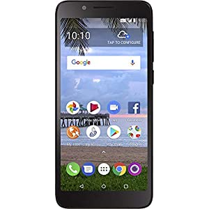 41NVcUtVbkL. SS300  - Total Wireless TCL LX 4G LTE Prepaid Smartphone