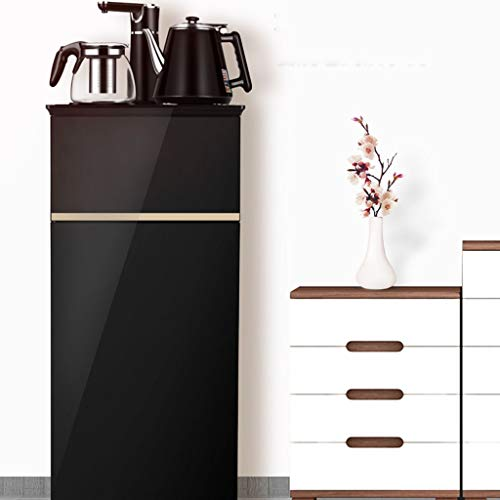 Hot Water Dispensers Household Vertical hot Water Dispenser Bedroom hot and Cold Smart hot Water Dispenser Energy-Saving New Eye-catching Water Dispenser (Color : Black, Size : 33cm32cm94cm) by Combination Water Boilers Warmers (Image #1)