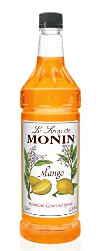 (Monin Flavored Syrup, Mango, 33.8-Ounce Plastic Bottle (1)