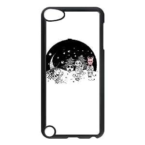 iPod Touch 5 Case Black SNOWBALL JACK V2 Iyfsi