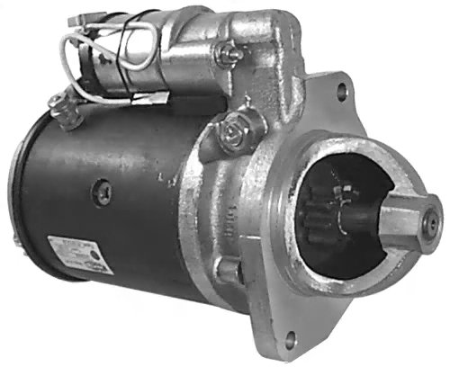 Gladiator New Starter for Ford Lehman Marine Application and Industrial Engines New Holland Massey Ferguson 63227553 1626267 VS223 91-17-8895 82DB-11000-EA 1618-05-0