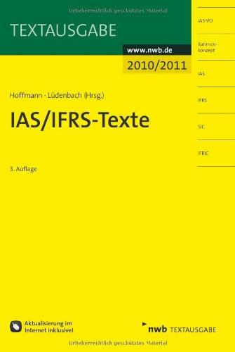 IAS/IFRS - Texte 2010/2011 (Textausgabe)
