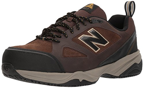 New Balance Men's 627v2 Work Training Shoe, Brown, 8 D US