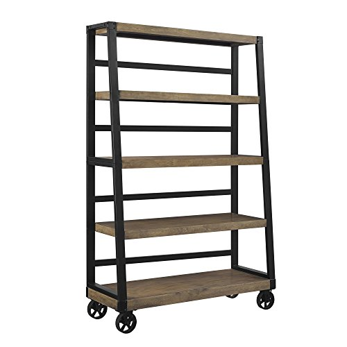 Ameriwood Home 9660196COM Wade, Bookcase, Rustic Gray by Ameriwood Home