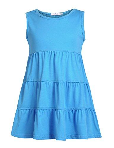 light blue child dress - 5