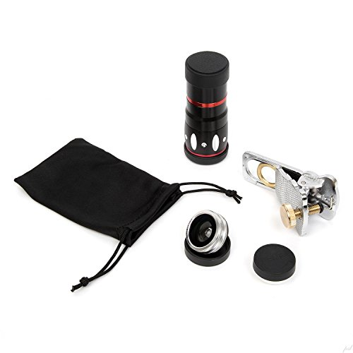 Ivation Universal Smartphone Camera Lens Kit for iPhone 6/6