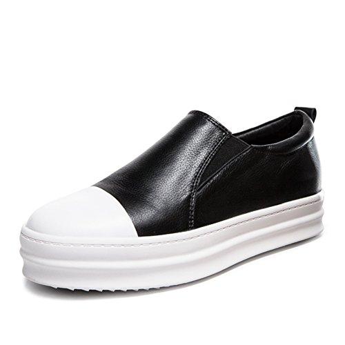 Épaisse nbsp; Chaussures Basses chaussures Confortables nbsp; nbsp;femelles Wljsllzyq Foulés Chaussures A Fu Spring Occasionnelles Plates Semelle Lok chaussures wtIqxHYR