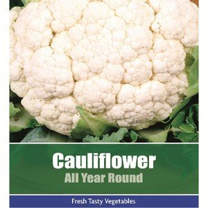 De Ree Cauliflower All Year Round Vegetable Plant 165 Seeds