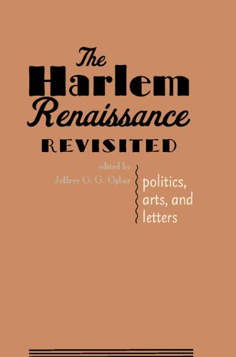 Search : The Harlem Renaissance Revisited: Politics, Arts, and Letters
