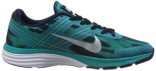 Nike Dual Fusion TR 2 Print 631661-003 - Zapatillas para mujer TRB GREEN/LT BS GREY-OBSDN-VNM GREEN