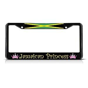 Amazon Com Jamaica Jamaican Princess Black Heavy Duty