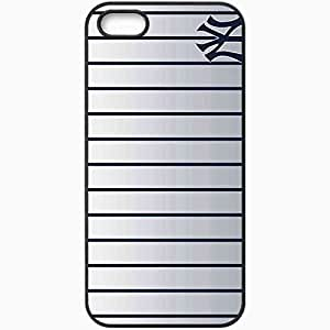 Personalized iPhone 5 5S Cell phone Case/Cover Skin 15138 The Yankee Years by wickidboy37 Black