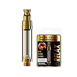 (Pack of 5)1.0ML CX2 Glass Refillable CBD Oil Vape...