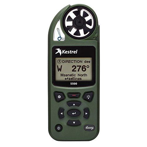 Kestrel 5500 Pocket Weather Meter Non-Link Olive Drab