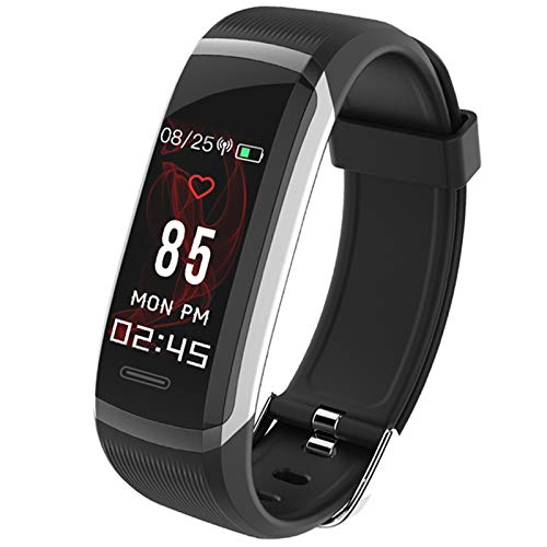 Leoie GT101 Smart Wristband 0.96'' TFT Color Screen Heart Rate Monitor Fitness Tracker red