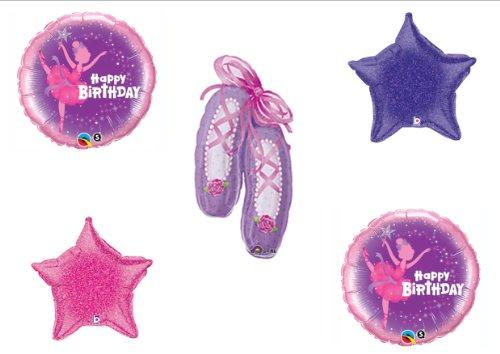 Angelina Ballerina Party Supplies (Ballerina Happy Birthday Party Balloons Decorations Supplies)