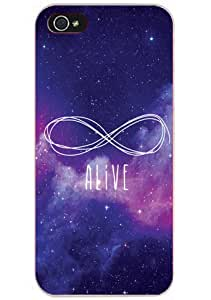 """DECO FAIRY? Galaxy Hipster Style Blue Purple Infinity """"Alive"""